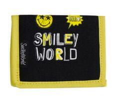 Smiley denarnica Smiley, črna