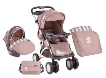 Lorelli Apollo SET sport babakocsi - Beige Friends