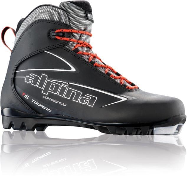 Alpina T 5 Black/Red/white 46