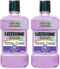Listerine ustna vodica Total Care, 2 x 500 ml