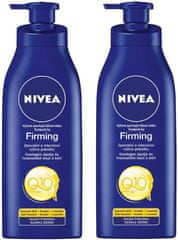 Nivea 2x Výživné zpev. těl. mléko Q10 250ml