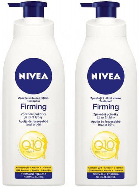 Nivea 2x Zpevňující tělové mléko Q10 250ml