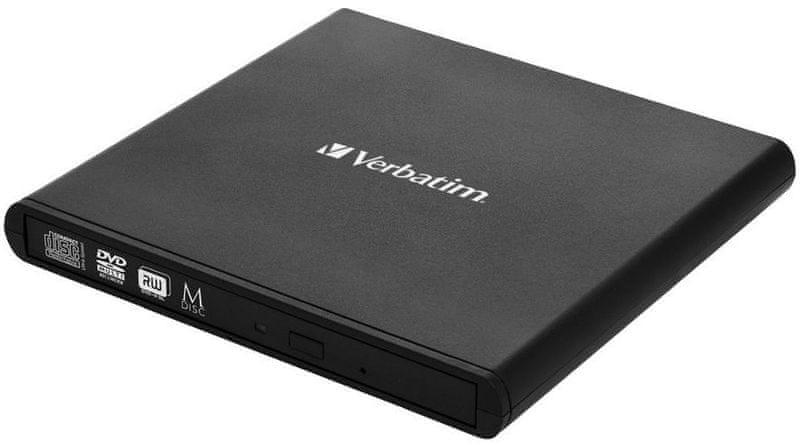 Verbatim DVD/CD Externí mechanika, USB 2.0, černá