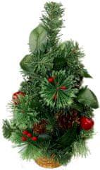 Seizis Stromček v košíku so šiškami 40 cm