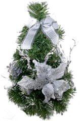 Seizis Stromček biely zdobený 30 cm
