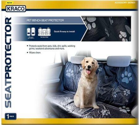 Kraco zaščitna prevleka za zadnje sedeže za pse