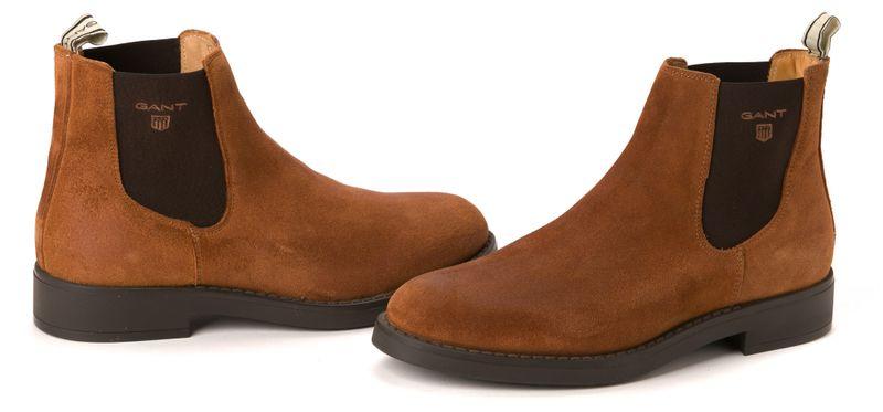 Gant pánská kotníčková obuv Oscar 43 hnědá