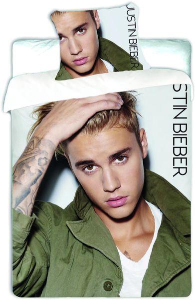 Jerry Fabrics povlečení Justin Bieber bavlna 140x200 70x90