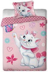 Jerry Fabrics Povlečení Marie Cat motýl Bavlna