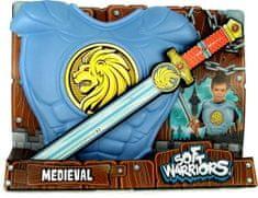 Rubie's Középkori mellvért és kard