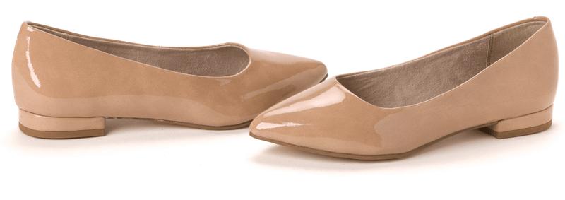 Tamaris dámské baleríny 36 béžová