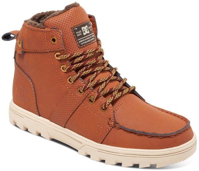DC Woodland M Boot Burnt Henna/White 45