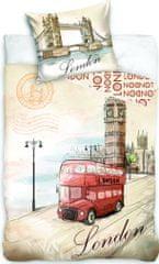 Jerry Fabrics posteljnina London Bus
