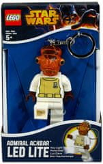 LEGO® Star Wars Ackbar privjesak za ključeve s LED svjetlom