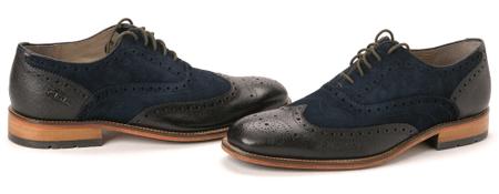 Clark's moška obutev Penton Limit 43 temno modra