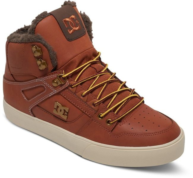 DC Spartan Hi Wc M Shoe Burnt Henna/Wh 44,5