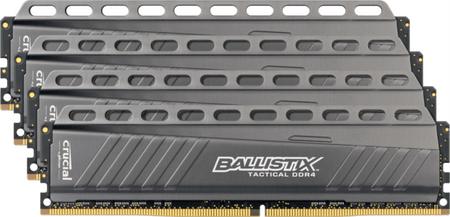Crucial pomnilniški kit Ballistix Tactical 4x4GB, DDR4