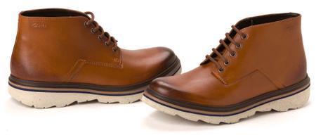 Clark's pánská kotníčková obuv Frelan Hike 43 hnědá