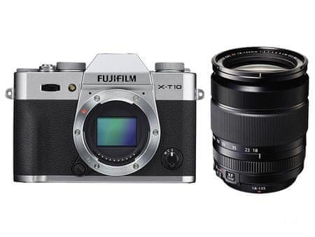 FujiFilm X-T10 + 18-135 Silver