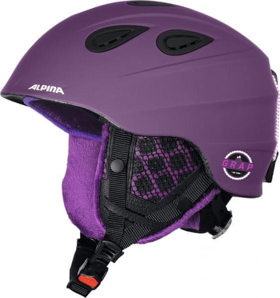 Alpina Grap 2.0 LE Deep-Violet Matt 54-57