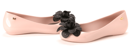 Zaxy dámské baleríny Pop Garden 41/42 světle růžová