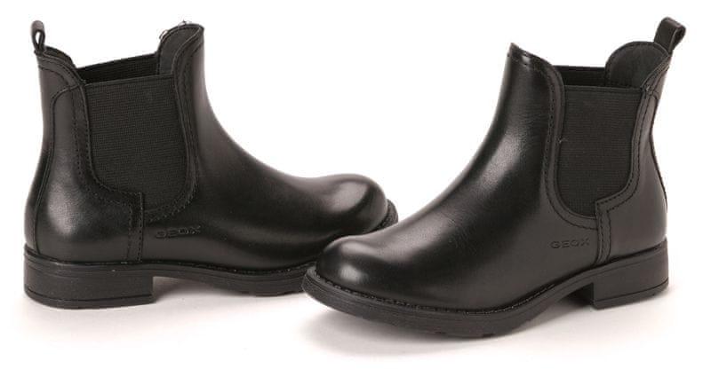 Geox dívčí kotníčková obuv 28 černá
