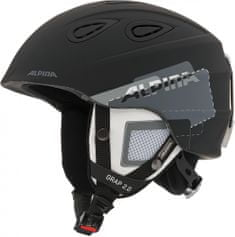 Alpina Sports Grap 2.0 Black-Grey Matt 61-64