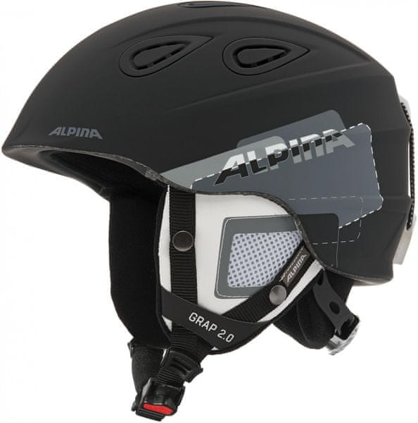 Alpina Grap 2.0 Black-Grey Matt 54-57