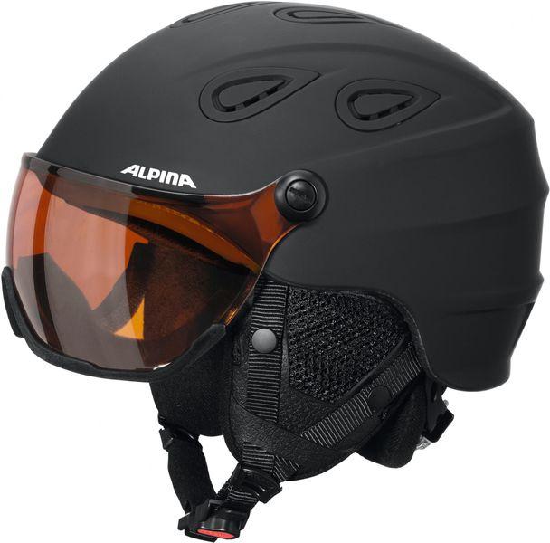 Alpina Grap Visor HM Black Matt 54-57