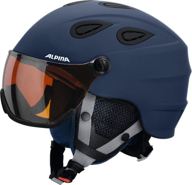 Alpina Grap Visor HM Blue-Navy Matt 54-57