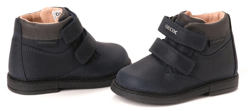Geox chlapecká kotníčková obuv 25 tmavě modrá