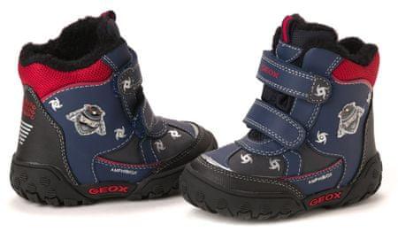Geox chlapecká kotníčková obuv 25 tmavo modrá