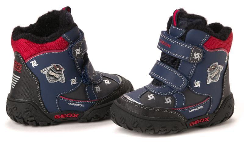 Geox chlapecká kotníčková obuv 24 tmavě modrá