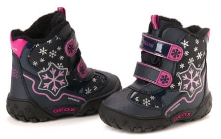 Geox dívčí kotníčková obuv 23 tmavo modrá