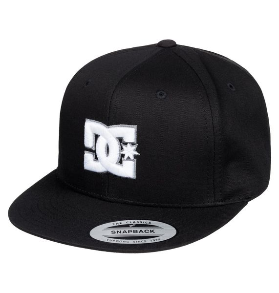 DC Snappy Boy B Hats Black
