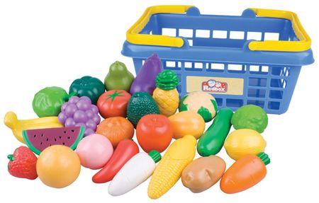 Teddies Košík s ovocem a zeleninou