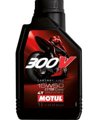 Motul ulje 4T 300V Factory Line 15W50, 4 l