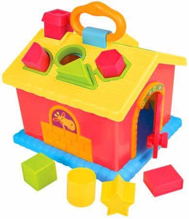 Teddies BABY Multifunkční vkládačka domeček