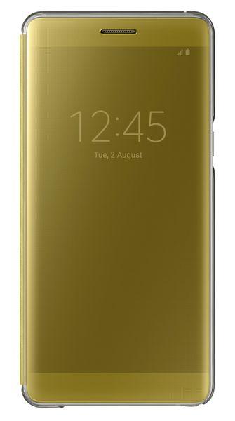 Samsung flipové pouzdro Clear View Cover, Galaxy Note 7, žlutá
