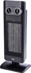 ECG KT 12 Elektromos hősugárzó, Fekete