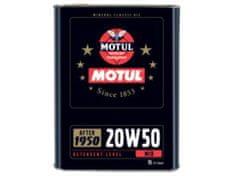 Motul olje Classic 20W50, 2 l