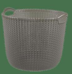 CURVER okrągły kosz Knit 30 l