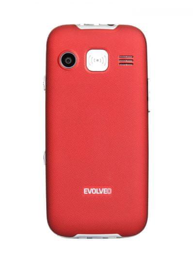 Evolveo EasyPhone XD, červený, nabíjecí stojánek - použité