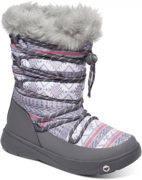 Roxy Summit J Boot Charcoal Grey 10 (41)