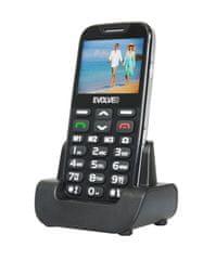 Evolveo telefon za starejše Easyphone XD, črn - Odprta embalaža