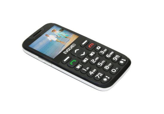 Evolveo EasyPhone XD, černá, nabíjecí stojánek - rozbaleno