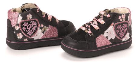 Primigi dívčí kotníčková obuv Benedetta 25 černá