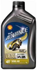 Shell ulje Advance 4T Ultra 10W40, 1 l