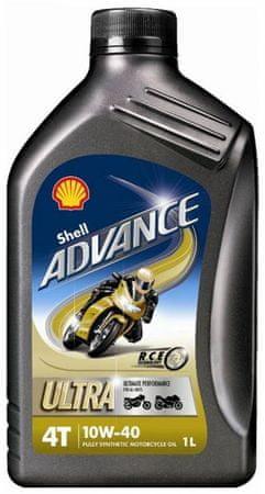 Shell olje Advance 4T Ultra 10W40, 1 l