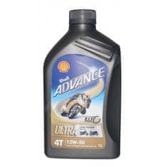 Shell olje Advance 4T Ultra 15W50, 1 l